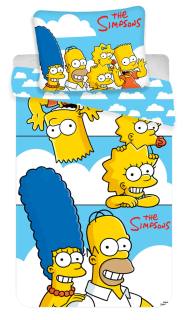 Obliečky Simpsons Family Clouds 140/200