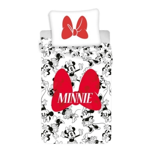 Obliečky Minnie Red Bow 140/200, 70/90